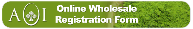 aoi wholesale registration